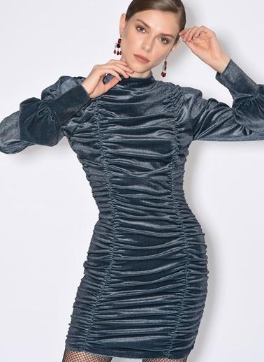 Tuba Ergin Elbise İndigo